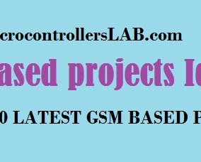 GSM BASED PROJECTS