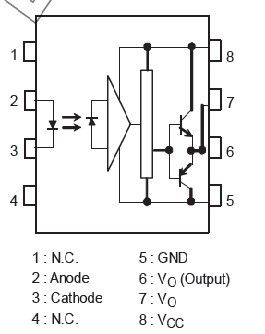 How to use isolated MOSFET driver TLP250