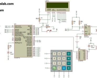 automatic Electronic bell circuit diagram using pic microcontroller