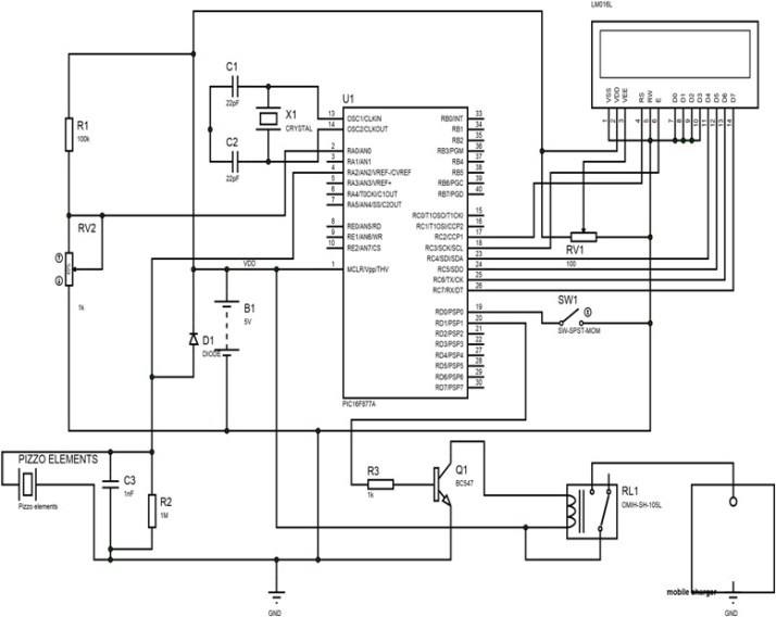 microcontroller based foot step power generation system