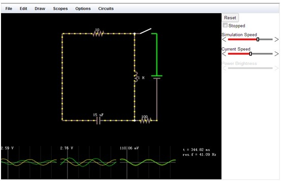 Electronic Circuit Simulator Software Windows