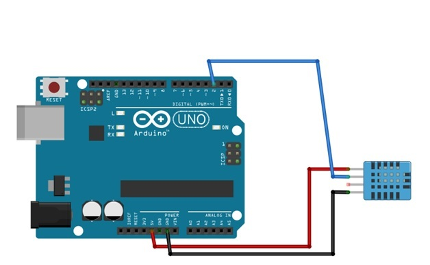 dht11 interfacing with arduino