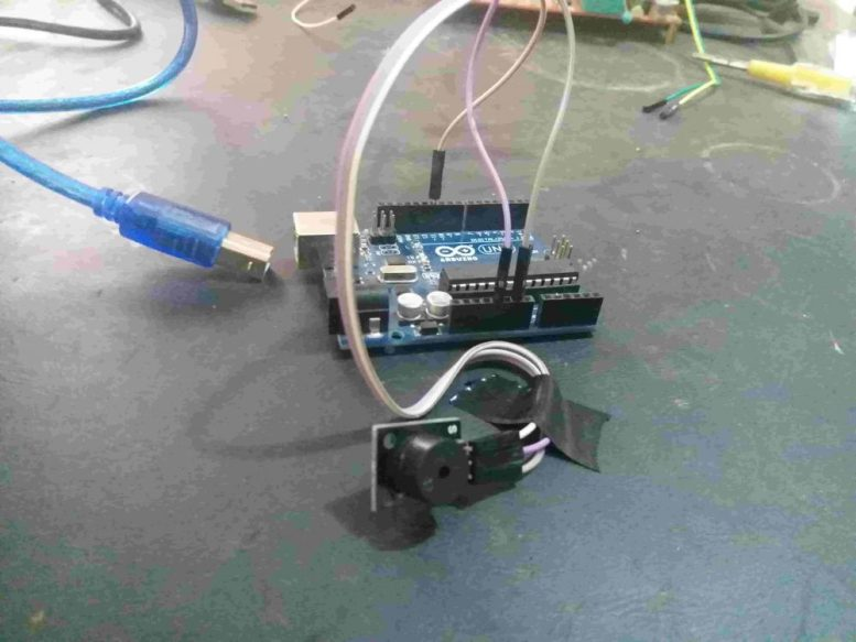 Buzzer module interfacing with Arduino