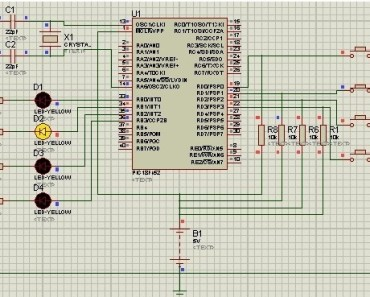 use input output ports of pic microcontroller
