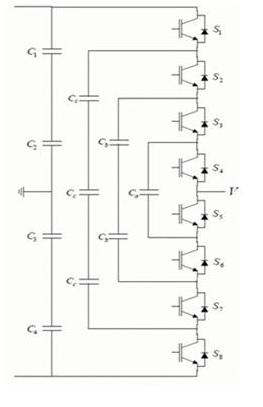 Flying capacitor multilevel inverter