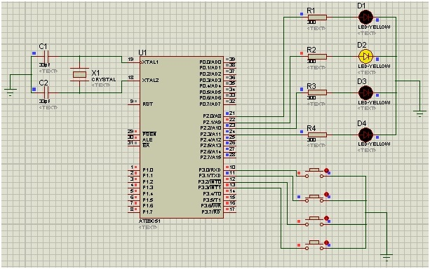input output ports 8051 microcontroller
