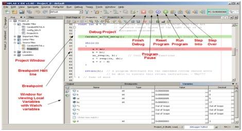 MPLAB pic microcontroller compiler