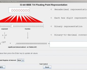 MIPS floating pointing architecture using pcspim