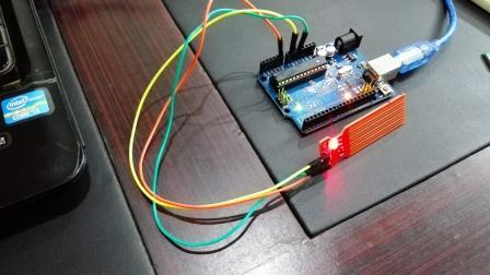 water level sensor interfacing with arduino