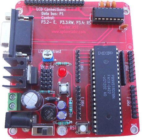 8051 Microcontroller tutorials