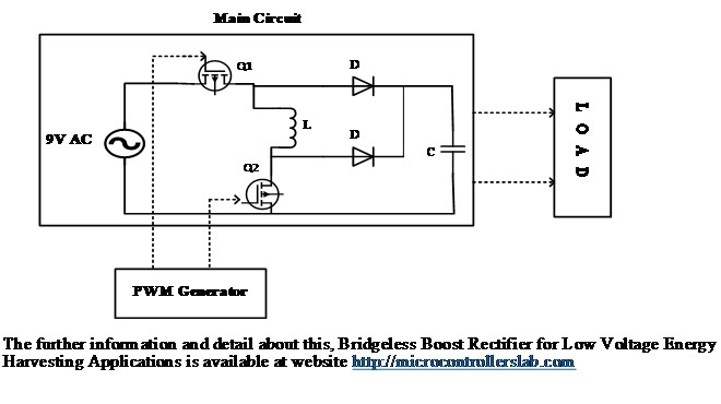Bridgeless Boost Rectifier for Low Voltage Energy Harvesting Applications 4