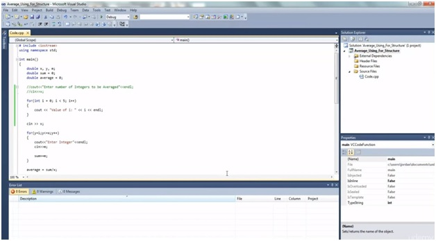 VHDL programming for loop code 1