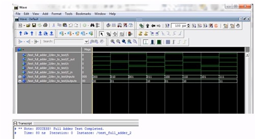 Full Adder implementation using VHDL on basys 3 and 2 FPGA board