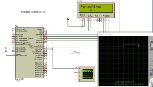 small resolution of circuit diagram of pulse width measurement using pic microcontroller