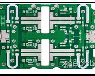 High frequency single layer PCB