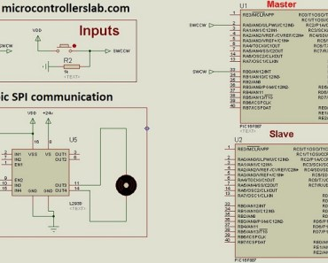 PIC to PIC SPI communication through SPI module