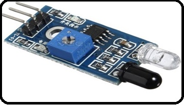 Infrared Obstacles Avoidance Sensor Module interfacing with pic