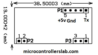 pinout of RMD630 RFID module