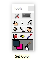 Set color labview example
