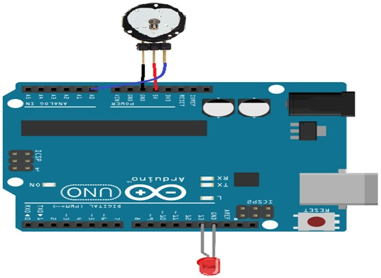 pulse sensor heart rate interfacing with arduino