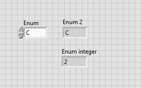 Enumerated data types in labview