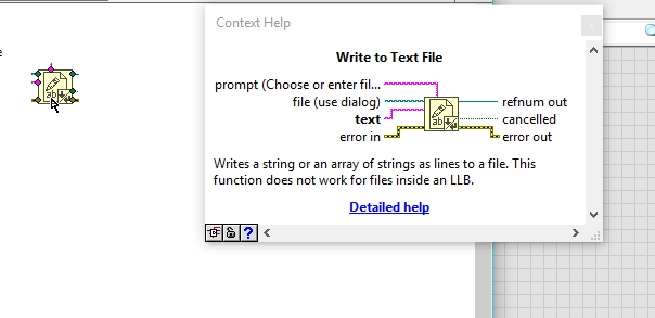 Reading and writing to text files in labview