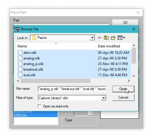 Getting started with pspice schematic: tutorial 2