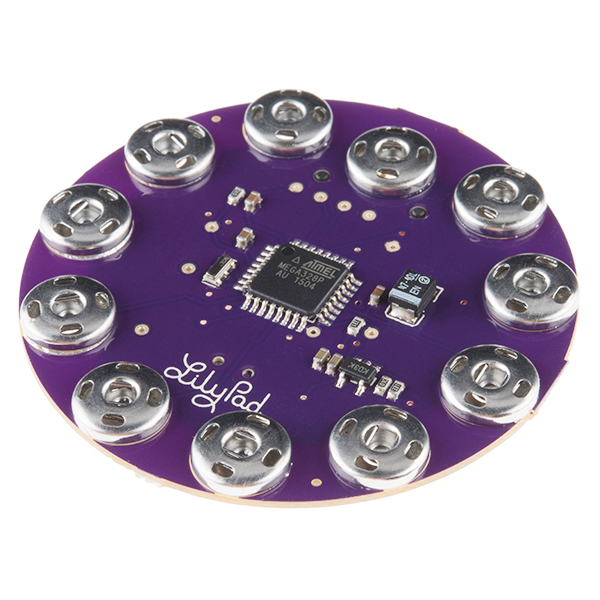 Arduino Lilypad simple snap