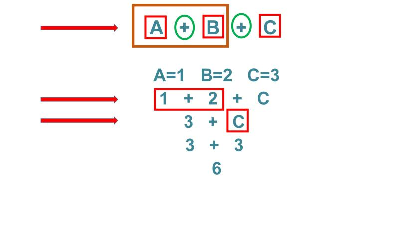 3 binary expressions in arduino c programming