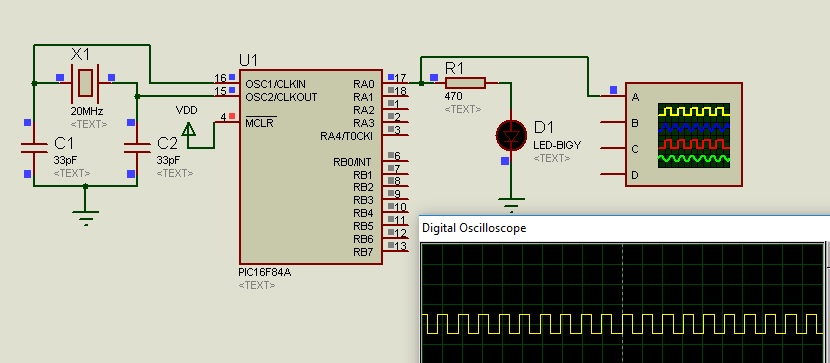 PIC16F84A Microcontroller introduction and features