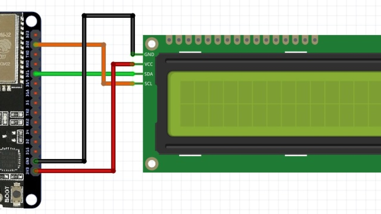 I2C LCD interfacing with ESP32 and ESP8266 in Arduino IDE