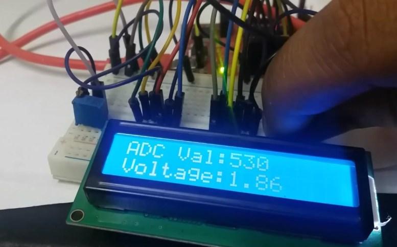 MSP430 microcontroller ADC