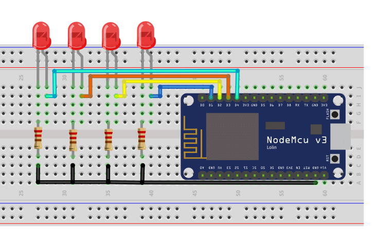 Control NodeMCU with HTTP shortcuts
