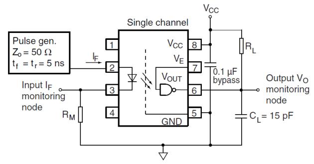 6N137 interfacing circuit
