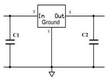 LM7912 connection diagram