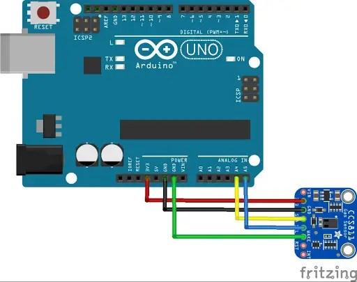 CCS811 interfacing with Arduino