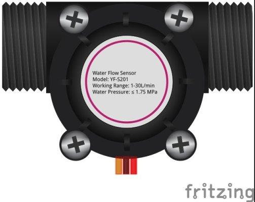 wate flow sensor