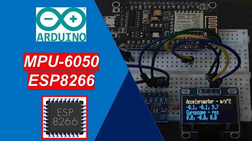 MPU-6050 with ESP8266 NodeMCU Arduino IDE