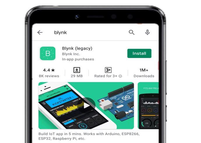 Blynk app install