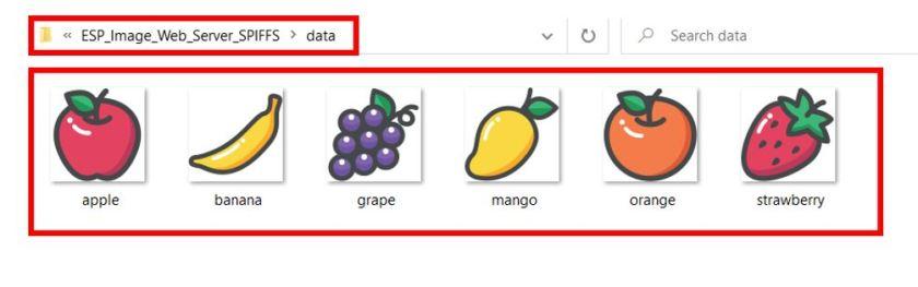 ESP image web server SPIFFS upload images3