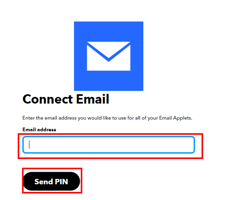 ESP32 HTTP POST IFTTT connect email