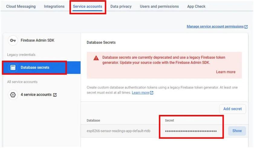 ESP8266 Google Firebase build your own app 5