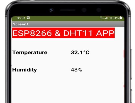 ESP8266 Google Firebase build your own app MIT Inventor 22