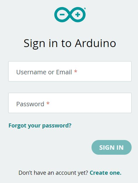 Arduino IoT cloud getting started 2