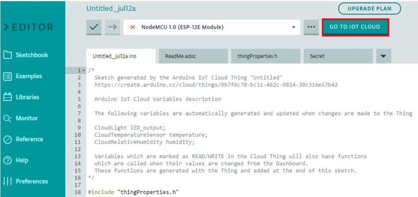 ESP8266 Arduino IoT cloud sketch3