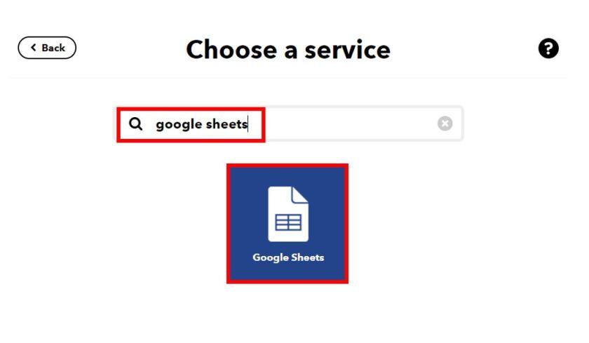 Publish sensor readings to Google Sheets IFTTT2