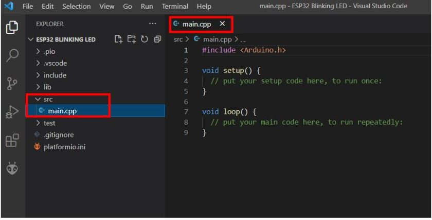 VS Code with PlatformIO 9