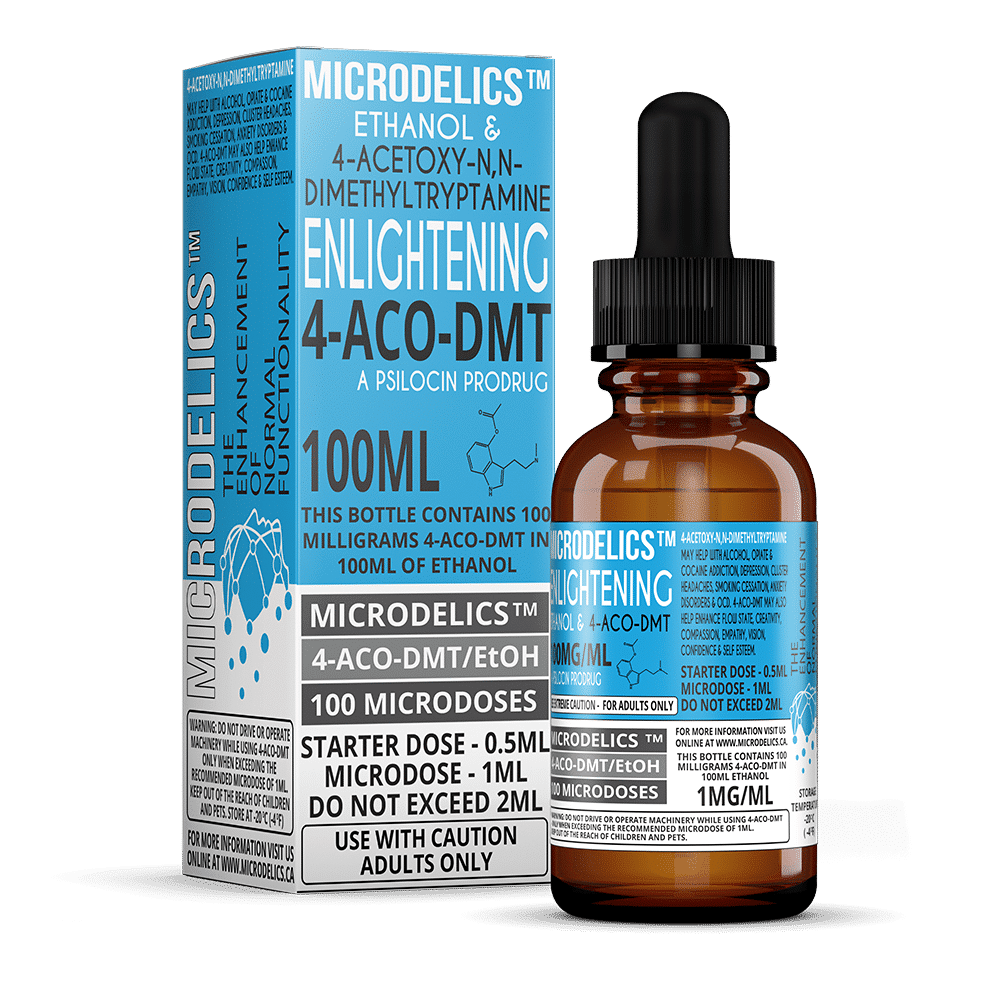 The Worlds 1st 4-ACO-DMT Microdosing Kit