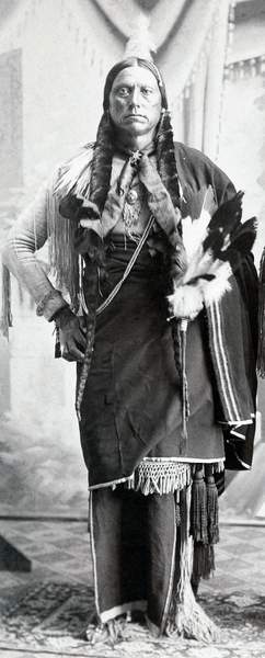 Quanah Parker, Chief of the Comanches