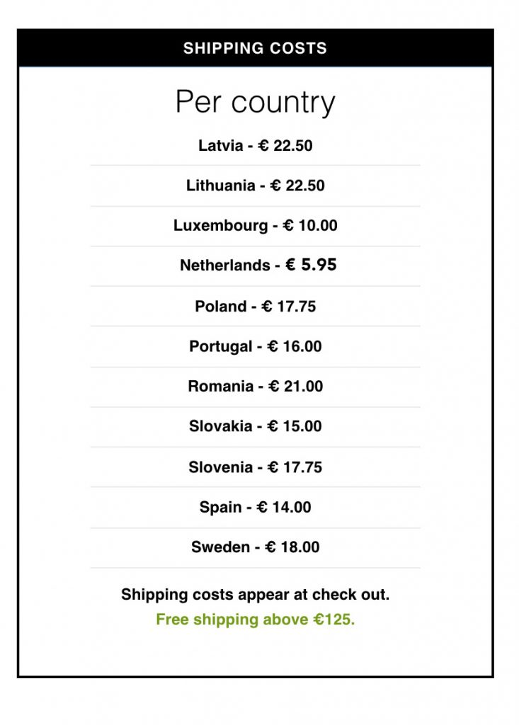 psychedelic shipping cost